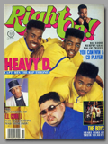 Right On Magazine - Heavy D. and The Boyz